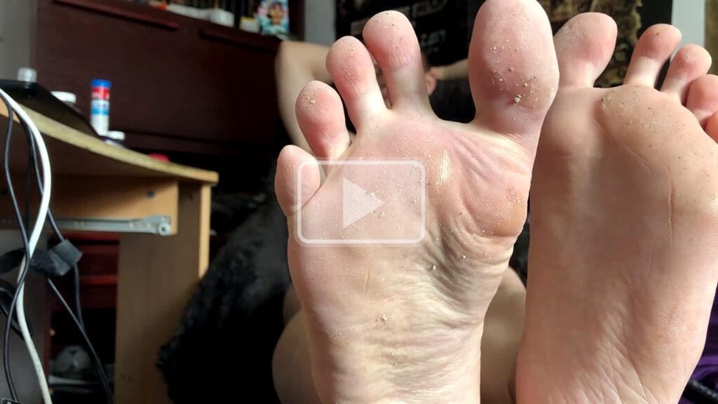 blonde twink soles jack off