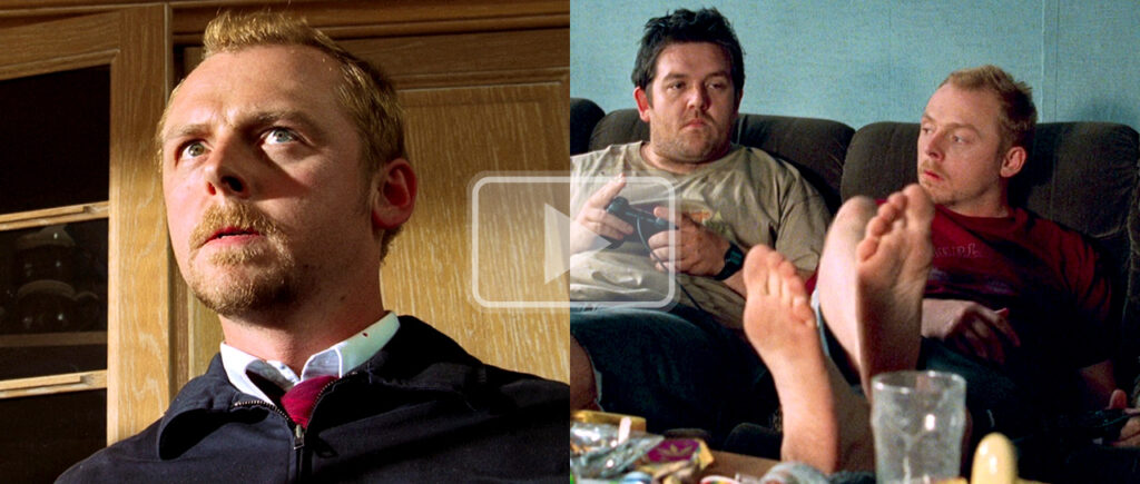 simon pegg feet
