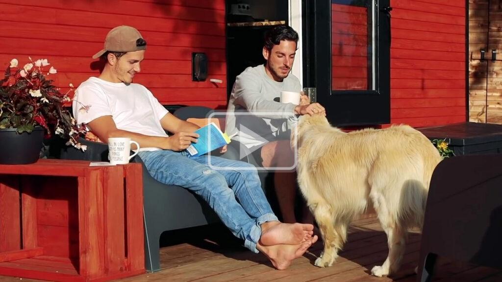 barefoot boyfriends tiny house tour