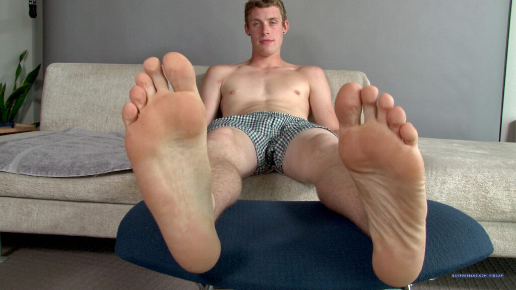 slightly dirty soles