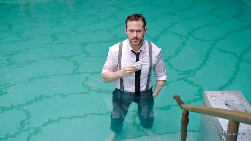 ryan in the pool