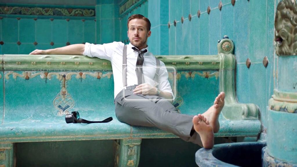 ryan gosling feet - gq ralph lauren
