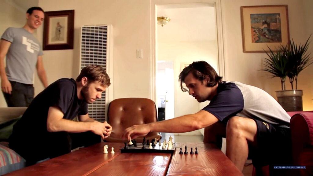 edgemont Zach and Matt playing chess