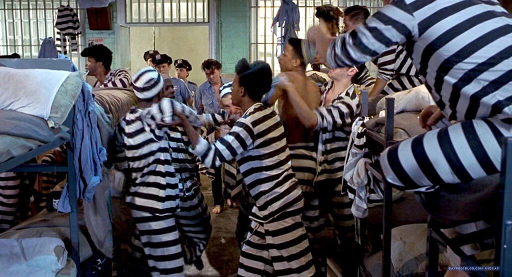 johnny depp arrives in jail