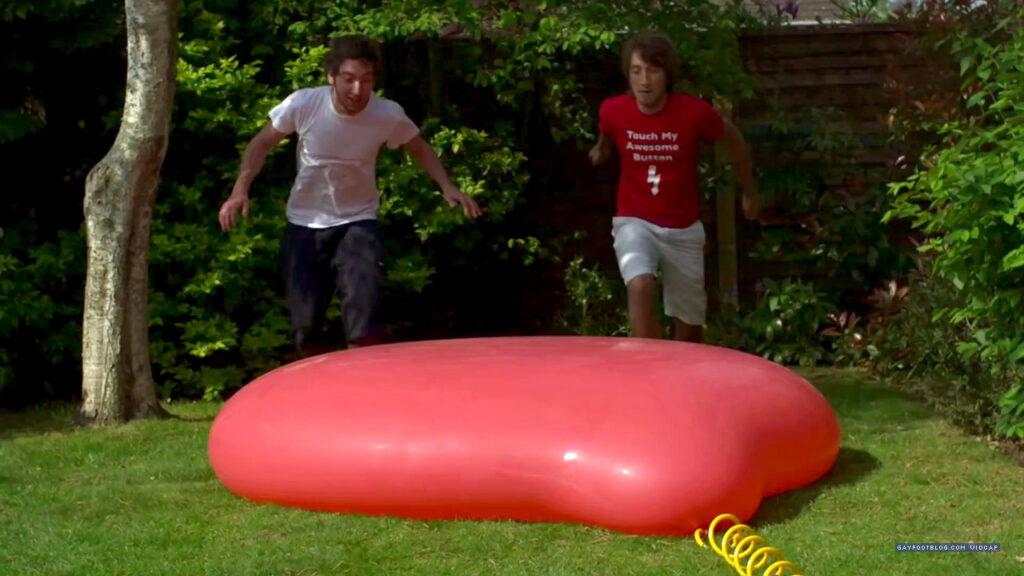 Running At Balloon